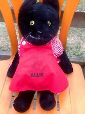 VtG 1979 SS Happiness Crew Allie Cat Kitten Plush + Complete 3 PC Outfit *RARE*