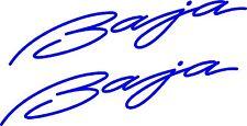 Baja Boat Car Trailer Sign vinyl sticker graphic Window Truck  2-set