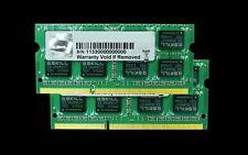 G.skill DDR3-1333(PC3 10666) 16GB(8GBx2)Laptop SODIMM F3-10666CL9D-16GBSQ 204pin