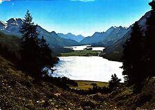Blick auf die Oberengadiner See , Ansichtskarte
