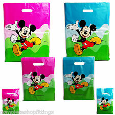 More details for mickey mouse printed carrier bags double side printed strong gift bag for retail