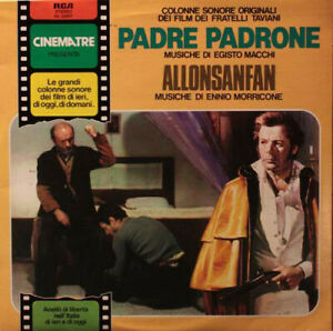 Macchi PADRE PADRONE Morricone  - LP RCA soundtrack Ost