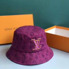 Louis Vuitton 3D LV Embroidered Bucket Hat Luxury Cap