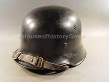 106152, Feuerschutzpolizei Stahlhelm M35/40, ohne Abzeichen, Feuerwehr