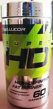 CELLUCOR SUPER HD 60 Caps Fat Burner Weight Loss Sculp Free Shipping