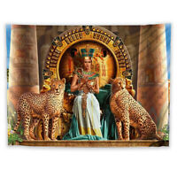 Egypt Pharaoh Tapestry Wall Hanging Mandala Bedspread Indian Home Decor