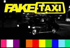 faketaxi decal sticker oem vag dub euro jdm free postage fake taxi funny