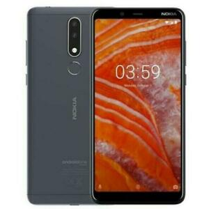 "Unlocked Nokia 3.1 Plus Dual SIM Android 4G LTE 32GB ROM 3GB RAM 13MP Phone 6.0"""