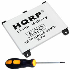 HQRP 1530mAh Battery for Amazon Kindle DX, D00801 Digital Book E-Reader