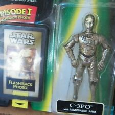Starwars C-3Po W Removable Arm And Flashback Photo -The Power Of The Force -New