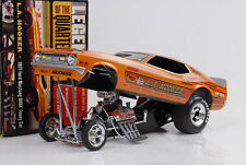 Ford Mustang Hooker 1971 Quarter Mile Dragster Funny car 1:18 Auto world Ertl
