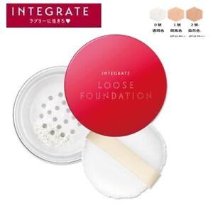 *SHISEIDO INTEGRATE Beauty Filter Mineral Loose Powder Foundation SPF10 PA++ 9g