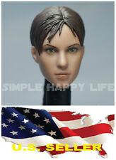 1/6 Jill Valentine head sculpt Resident Evil 5 custom hot toys kumik USA