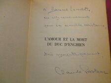 L'AMOUR ET LA MORT DU DUC D'ENGHIEN Claude Pasteur envoi !