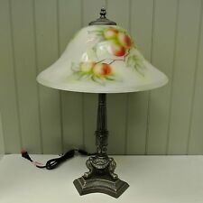 Kaldun & Bogle Glass Peach Table Lamp