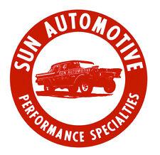 SUN AUTOMOTIVE PERFORMANCE SPECIALTIES HOT RAT ROD DECAL VINTAGE LOOK STICKER