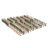 360pcs 1:72 Scale Plastic Military Soldiers Figurine Figures Scene Model