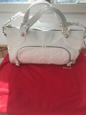 Bally Camona Bag, White, NEW