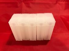 10 Square Coin Safe Tubes For US Nickel 22.61mm New High Quality Storage Lot USA