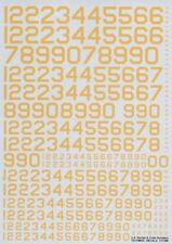 Techmod 1/72 US Publicaciones seriadas y CÓDIGO númerios amarillo #72118