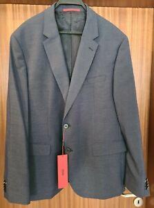 HUGO BOSS Red Label Sakko Jacket blau Gr. 56 NEU MIT ETIKETT