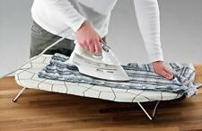 Portable Mini Ironing Board with Cover Easy Fold Desk Table Top Hanging Hook