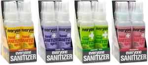 Everyone Hand Spray: Coconut+Lemon, Lavender+Aloe Peppermint+Citrus (6 Sprays)