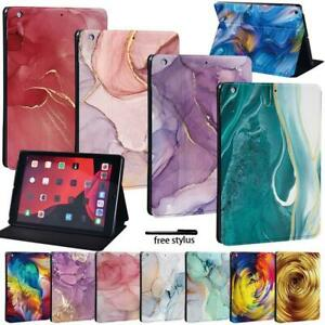 "Tablet Folio Leather Case Cover - Fit Apple iPad 8 10.2"" 2020 8th Gen"
