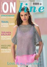 ONline Strickheft Stricktrends Ausgabe 50 Frühling / Sommer 2018