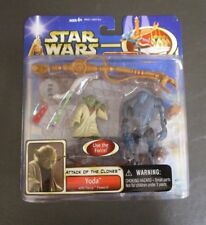 Yoda Force Powers Super Battle Droid STAR WARS The Saga Collection MOC Deluxe