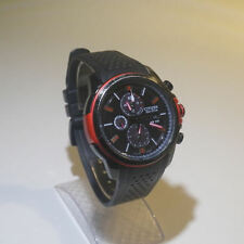 Citizen Eco-Drive Men's Watch from DRIVE Collection in Racing Colors Black & Red