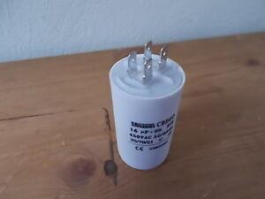 16 uF Kondensator z.B für Gardena Hauswasserautomat Pumpe Pump 4000 / 6000