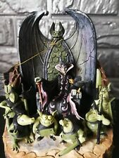Disney Traditions Jim Shore Maleficent Goons Forces of Evil Carved by heart Rare