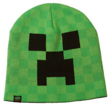 MINECRAFT - Creeper Face Beanie (Adult Size L/XL) by Jinx #NEW