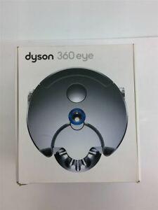 Dyson 360 eye Vacuum Cleaner Robot Nickel Blue RB01 NB UNUSED JAPAN