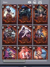 Topps Marvel Collect Femme Fatales complete set w/award