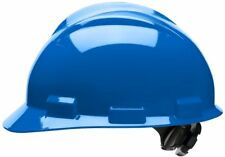 Bullard Cap Style Hard Hat with 4 Point Ratchet Suspension, Blue