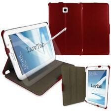 """Carcasas, cubiertas y fundas rojas de piel sintética para tablets e eBooks 8"""""""