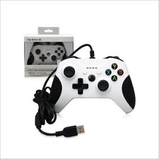 Dobe Xbox One Wired USB Game Controller White for Microsoft Xbox One S Console