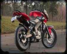Bajaj Pulsar 200Ns 1 A4 Metal Sign Motorbike Vintage Aged