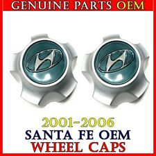 NEW 2001-2006 Hyundai Santa Fe Center Cap Hub Cover 2 PCS 52960-26200 Genuine