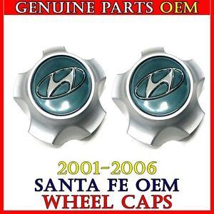 NEW 2001-2006 Hyundai Santa Fe Center Cap Hub Cover 2 PCS 52960-26200 Genuine