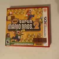 New Super Mario Bros. 2 Nintendo 3DS (2012) Brand New Factory Sealed Video Game