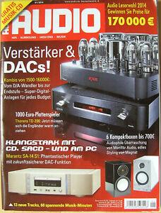 Audio 1/14 Marantz SA 14, Musical Fidelity V90 LPS, Thorens TD-206, NuLine 34