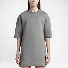 Nike NikeLab Essentials Tech Fleece Dress, 824086-063, Grande, Grigio scuro, prezzo consigliato £ 250