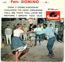 """FATS DOMINO   EP  POLYDOR   """" 10 - DON'T COME KNOCKIN' """"   [France]"""