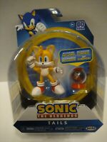 "Sega Sonic The Hedgehog TAILS 4"" Figure with Fast Shoe Wave 5 Jakks Pacific New"