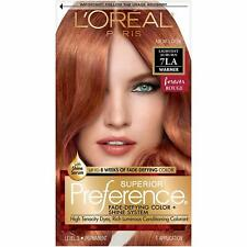 LOreal Paris Superior FadeDefying Shine Permanent Hair Color 7LA Lightest Auburn