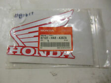 OEM Honda Red Wing Emblem Left Type 1    PN 87122-HN8-A30ZA   #B1617