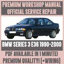 *WORKSHOP MANUAL SERVICE & REPAIR GUIDE for BMW 3 SERIES E36 1990-2000 +WIRING